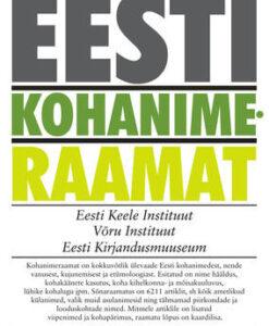 eesti-kohanimeraamat