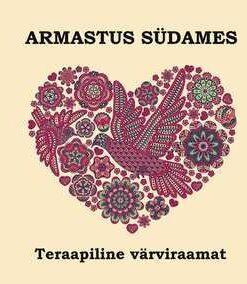 armastus-südames-teraapiline-värviraamat